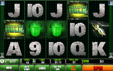 The Incredible Hulk pokies from Playtech