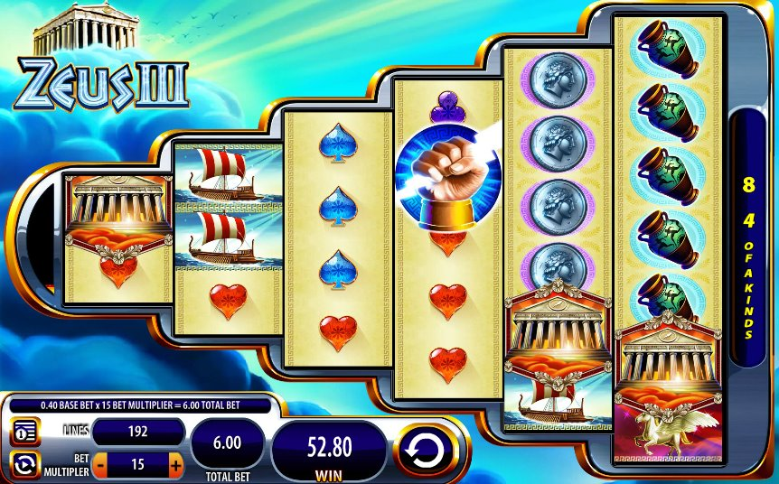 Free zeus slot machine game