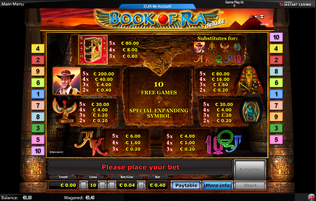 Valley of the Scarab Slot - Play Now for Free or Real Money