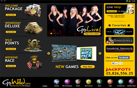 GoWild Casino Online Review With Promotions & Bonuses