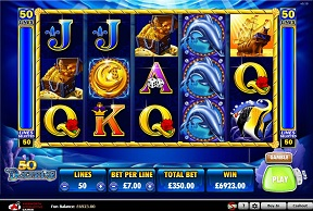 50 dolphins slot machine