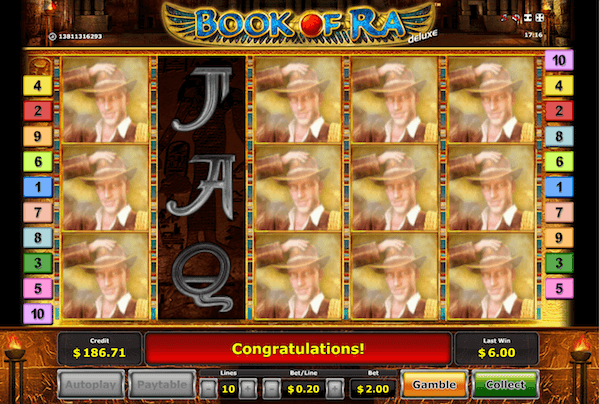 Great 1,000 x Stake Win at Book Of Ra Thanks To Expanding Wilds