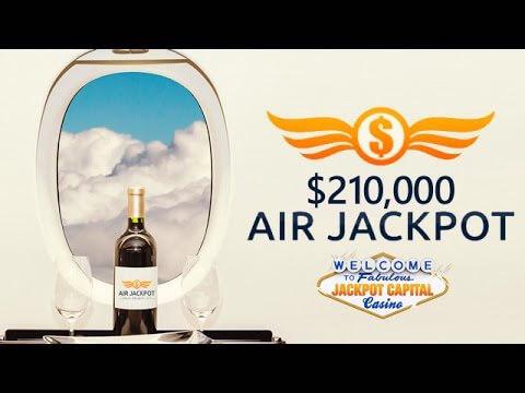 Air Jackpot casino bonus event